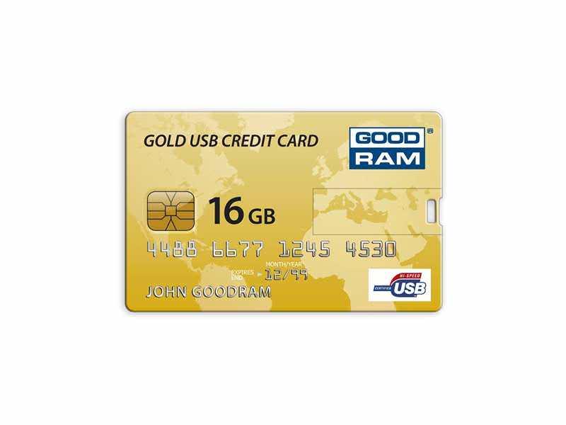 16GB GoodRam Credit Card Gift Retail