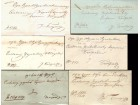 1850 - 1857 Predfilatelisticka pisma 6 kom