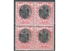 1903 - Kralj A.Obrenovic cista 10 para cetverac  MNH
