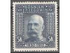 1910 - BiH 80 rodjendan Cara Franje 5 Krl MH