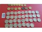 1938 godina, 50 para, 1 dinar, 10 dinara, - 48 kovanica