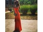 195) Crvena sirena push up haljina