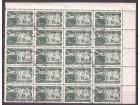 1951 - Vazdusna posta 2 din MNH 20terac  linijsko zupca