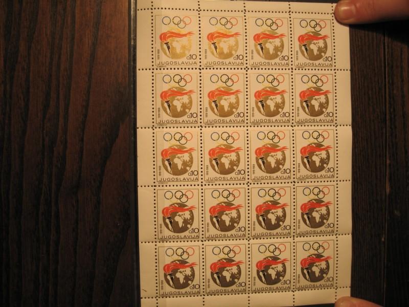 1969 Olimpijada Zupcanje 9! RETKO!TIRAZ NEPOZNAT! /1904