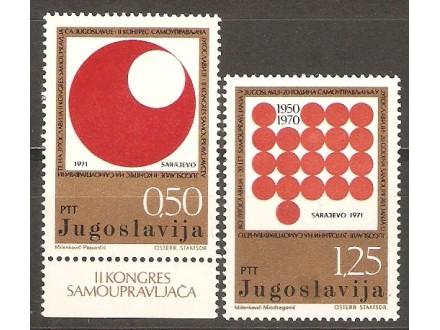 1971 - II Kongres samoupravljaca