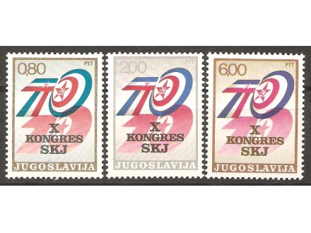1974 - X Kongres SKJ