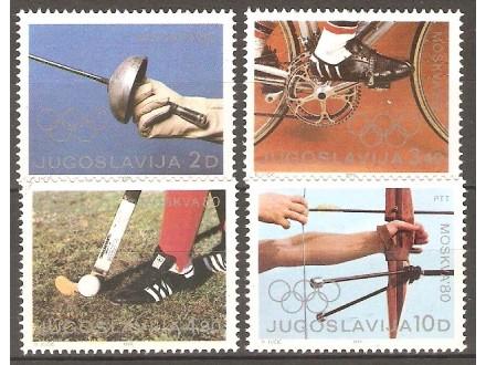 1980 - Olimpijada Moskva