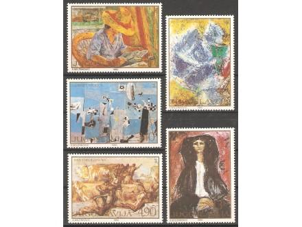 1980 - Umetnost
