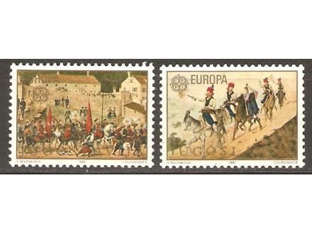 1981 - Europa - cept
