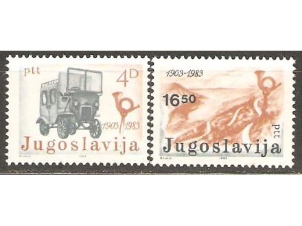 1983 - PTT Crne Gore