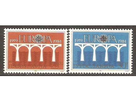1984 - Europa - cept