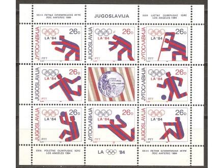 1984 - Medalje