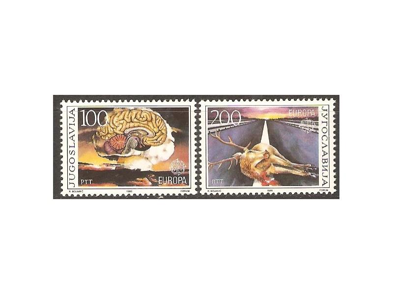 1986 - Evropa - cept