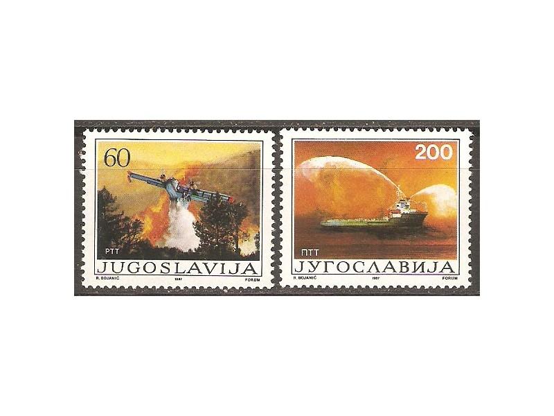 1987 - Borba protiv pozara