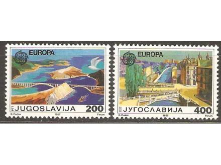 1987 - Evropa - cept