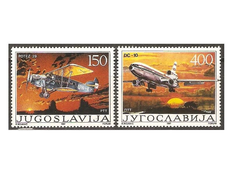 1987 - Vazdusni saobracaj