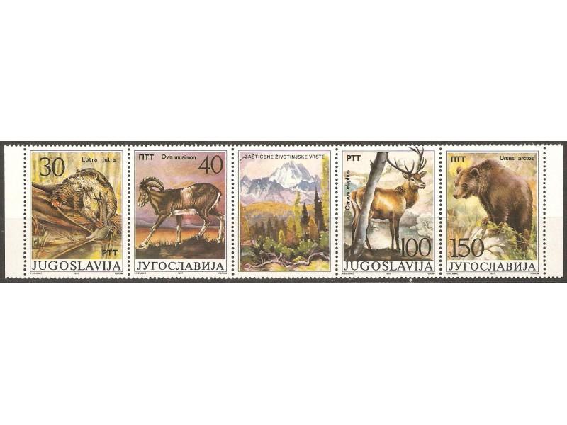 1987 - Zasticene zivotinjske vrste