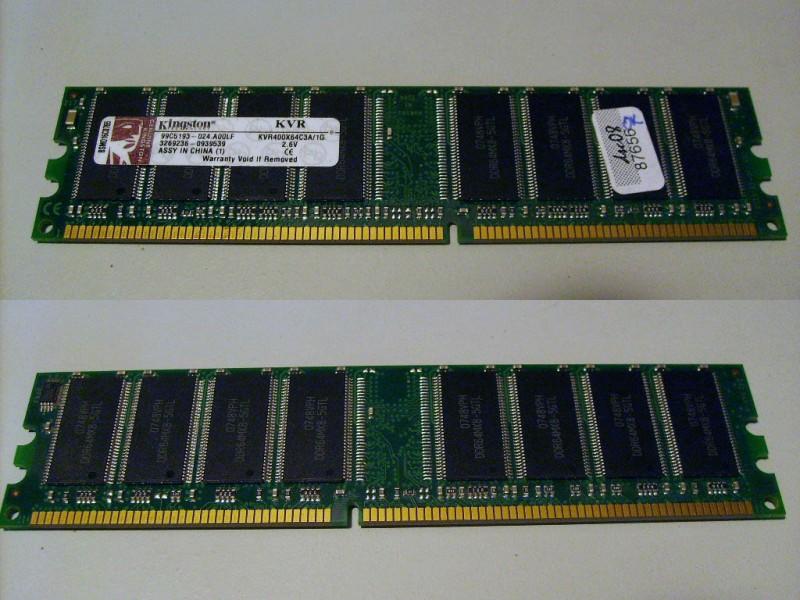 1GB DDR1 memorije