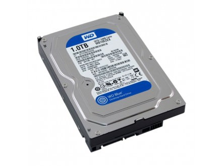 1TB SATA3 3.5` Western Digital WD10EZEX 64MB 7200rpm, blue