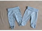 2  Waikiki pantalonice sa stopicama za bebe 3-6m