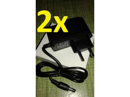 2 x Napajanje-Adapter-Punjac 12V- 1.5 A