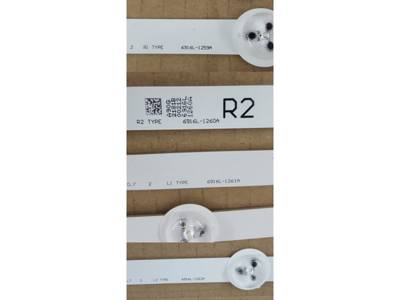 20 KOMADA LED LG 6916L-1259A 6916L-1260A 6916L-1261A