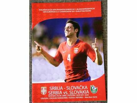 2009, SRBIJA - SLOVAČKA !