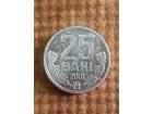 25 bani 2001 Moldavia