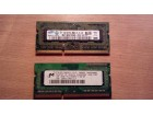 2GB (2x1GB) dual-mode ddr3 1066MHz laptop RAM memorija