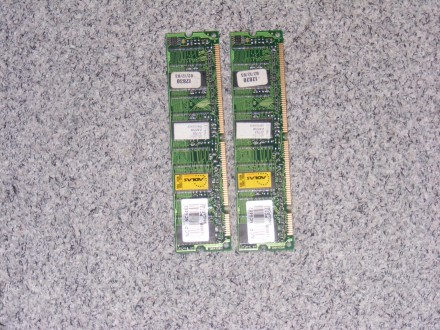 2x128 MB DDR1