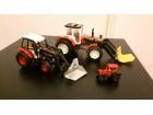 3 Traktora, dva veca i ovaj mali metalni