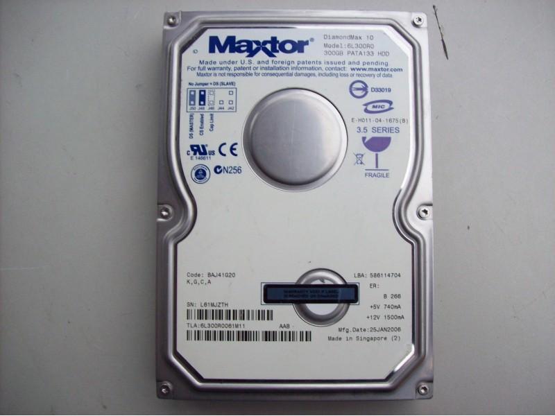 300 Gb Maxtor ata 3.5 inca + poklon