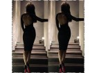 315) Prelepa pamucna haljina VISE BOJA