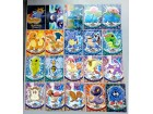 36 Pokemon karata (Trading cards)