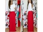 376) Prelepa duga pamucna haljina VISE BOJA