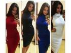 394) Prelepa pamučna haljina VIŠE BOJA