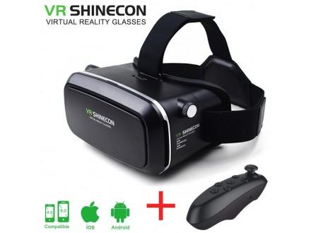 3D VR naočare VR Shinecon + DALJINSKI