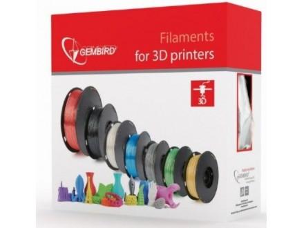 3DP-ABS1.75-01-FR ABS Filament za 3D stampac 1.75mm, kotur 1KG, Fluorescent RED