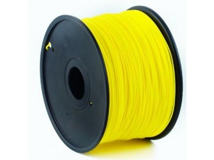 3DP-PLA1.75-01-Y PLA Filament za 3D stampac 1.75mm, kotur 1KG YELLOW