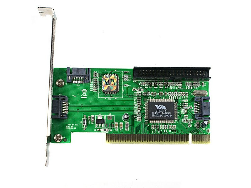 3x SATA 1x IDE PCI kartica