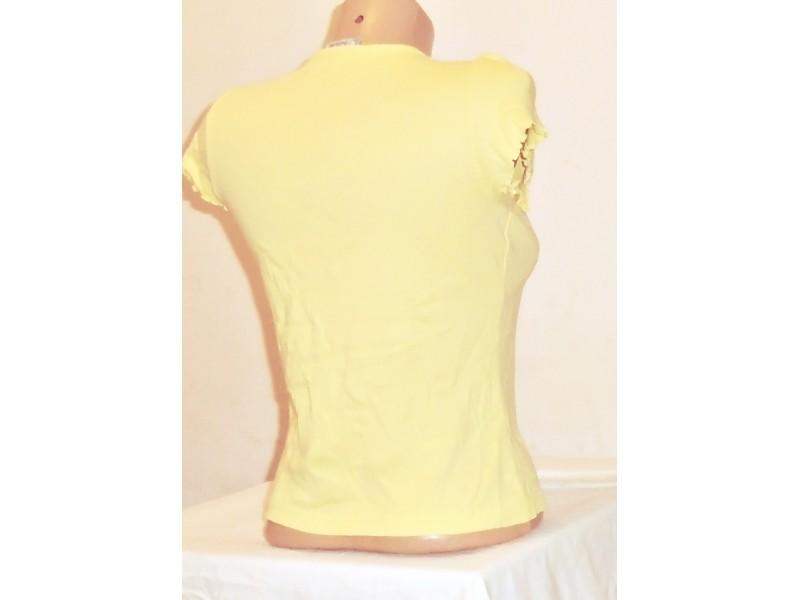 4.1.N.Majica 12g žuta sa aplikacijom