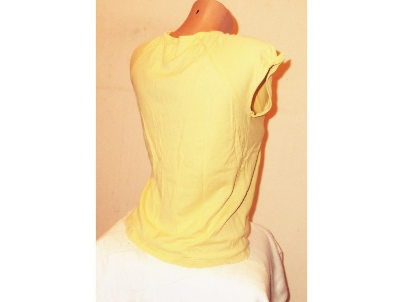 4.1.N.Majica 14g žuta sa aplikacijom