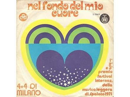 4 + 4 Di Milano - Nel Fondo Del Mio Cuore