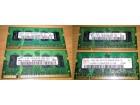 4 RAM-a ZA LAPTOP, SODIMM DDR2 (SAMSUNG, HYNIX) !!!