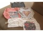 4 pamučne majice +1 tanji duks za dečake 2-3 (92-98)
