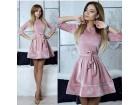 400) Prelepa haljinica od pliša VIŠE BOJA