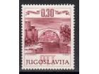 400 god starog mosta u Mostaru 1966.,čisto