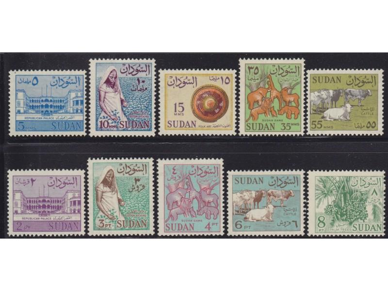 446. Sudan, 1962, Lokalna dešavanja, čisto (**)