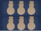 469 Sneško Belić ukras 11x6cm, 6 komada, dekupaž repro