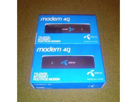 4G LTE USB modem Alcatel L850 150/50mbs; 2 komada